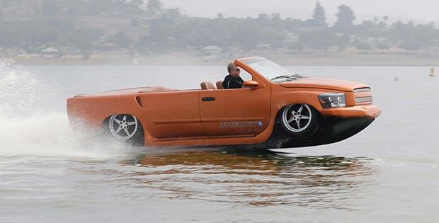 Motor boat car