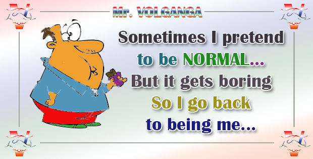 bored to be normal