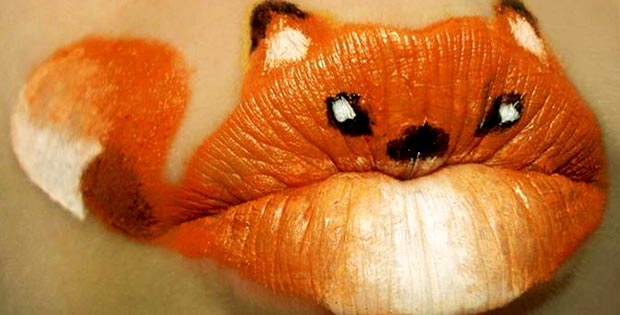 fox lips makeup