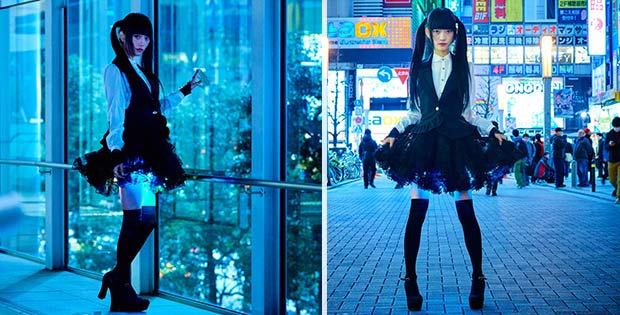 Th new shining skirt has captured the attention of Japanese females