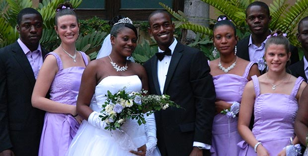 Wedding on Haiti