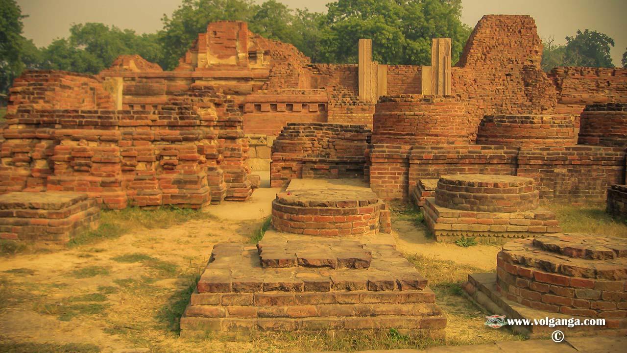 Ancient ruins of Sarnath