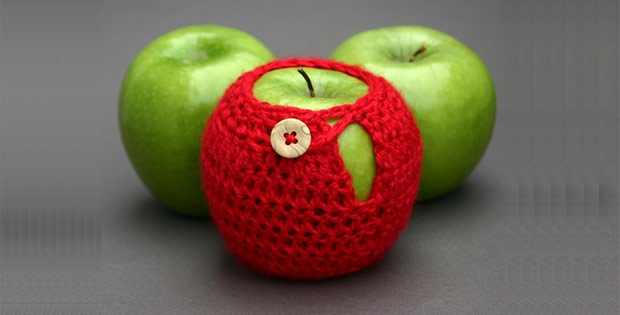 Apple sweater