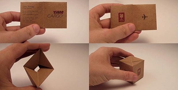 cargo service business card