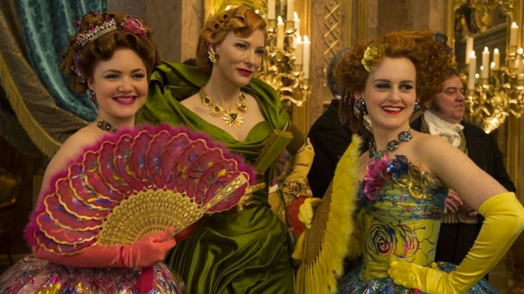 Cinderella's stepmother and stepsisters