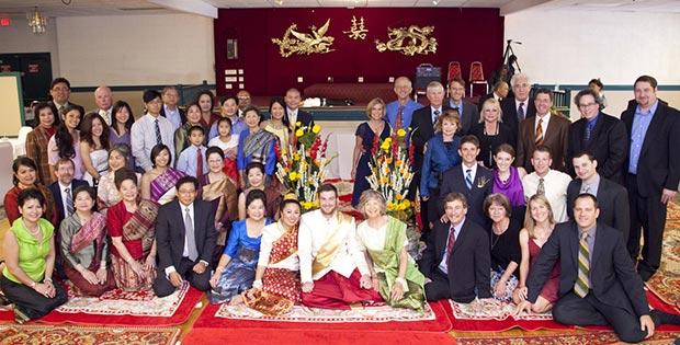 Wedding in Laos