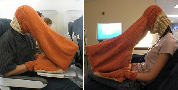 Privacy scarf