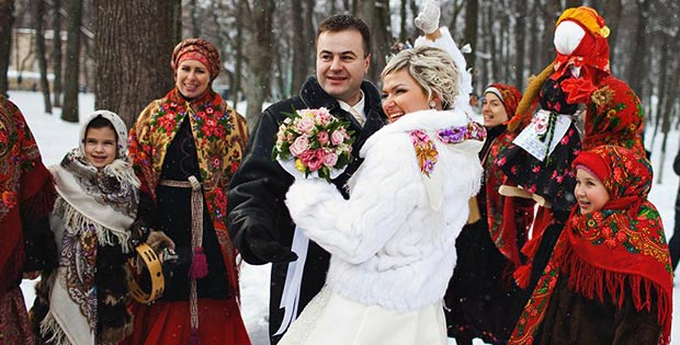Wedding in Russia