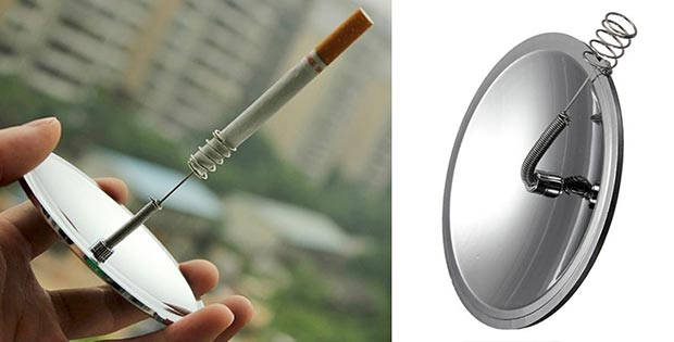 Solar cigarette lighter