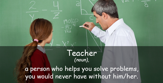 Funny quote about teacher
