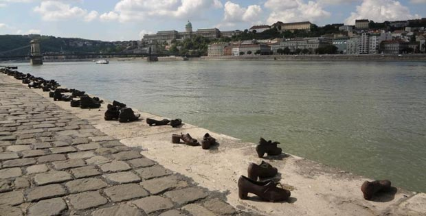 The Shoes on the Danube bank, Budapest, Hungary