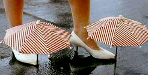 Umbrella shoes