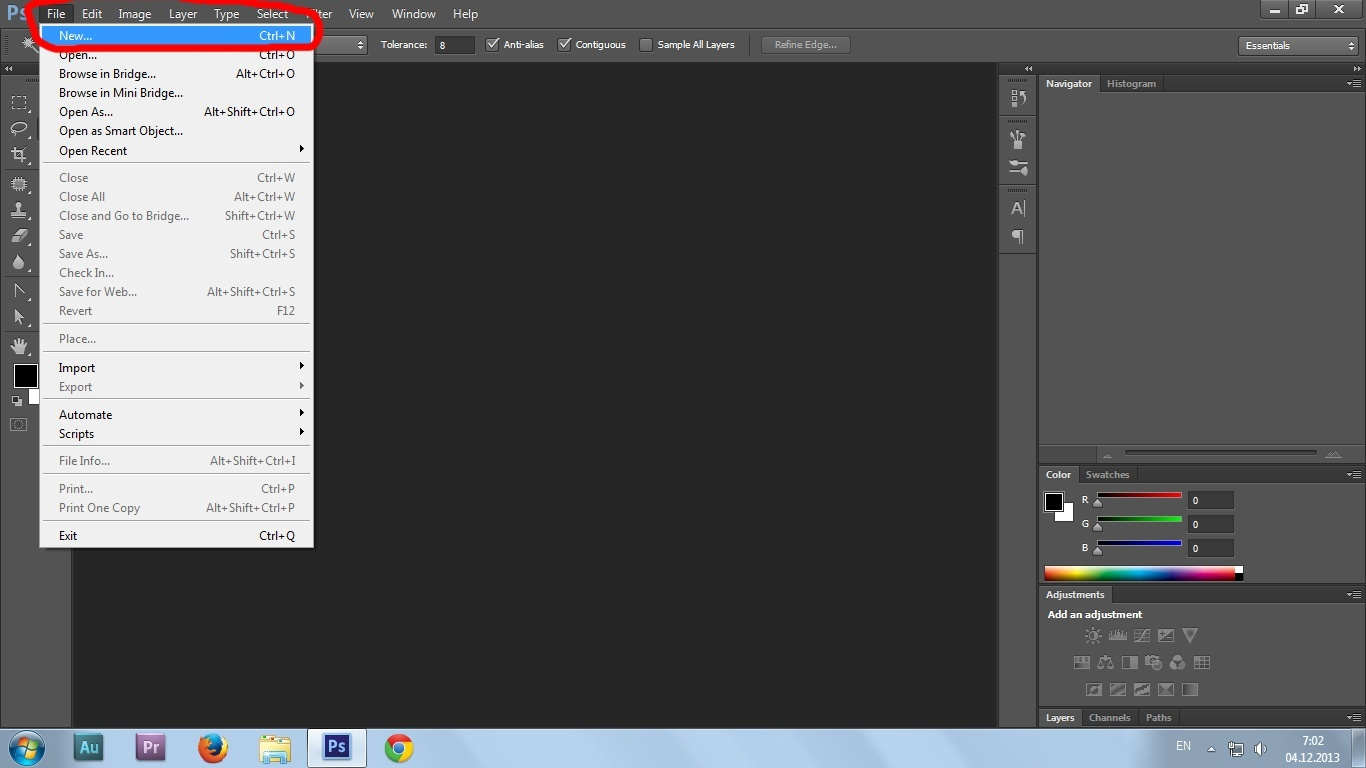 02. Gif animation in Photoshop CS6 tutorial
