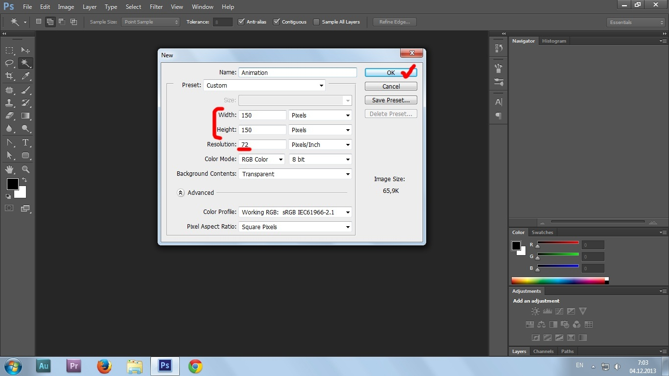 03. Gif animation in Photoshop CS6 tutorial
