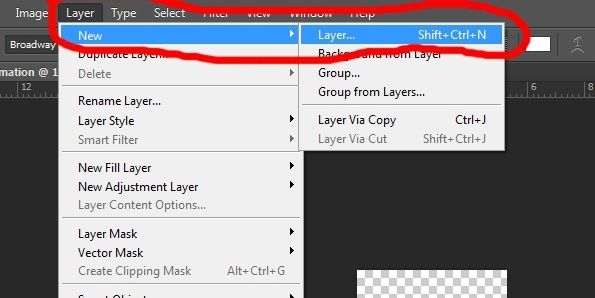 05. Gif animation in Photoshop CS6 tutorial