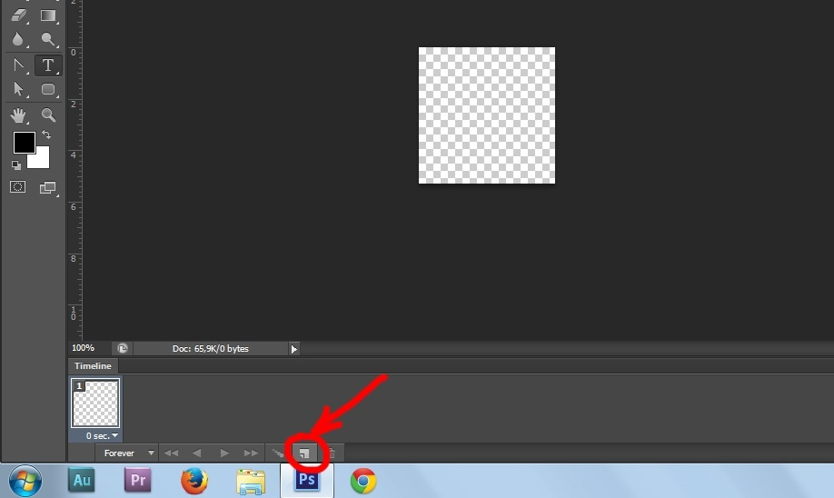 How to make GIF animation in Photoshop (CS6). Step-by-step tutorial ...