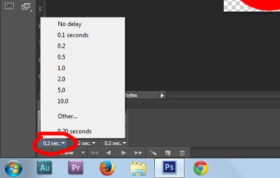 13. Gif animation in Photoshop CS6 tutorial