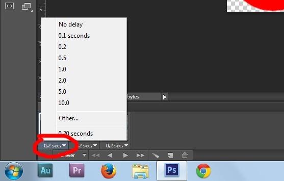 13. Gif animation in Photoshop CS6 tutorial