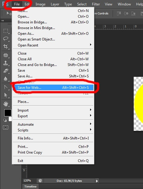 15. Gif animation in Photoshop CS6 tutorial