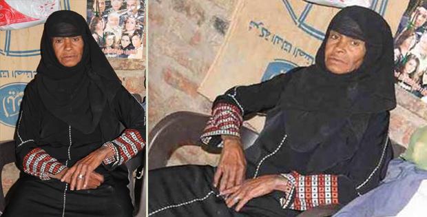 Sisa Abu Daooh, the breadwinner mother from Egypt