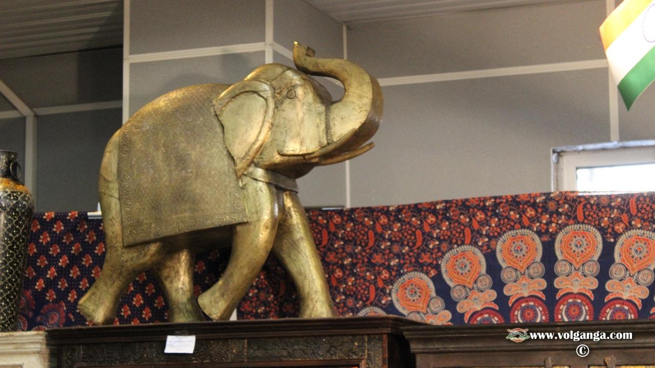 Indian Fair in Yaroslavl (2015). Elephants