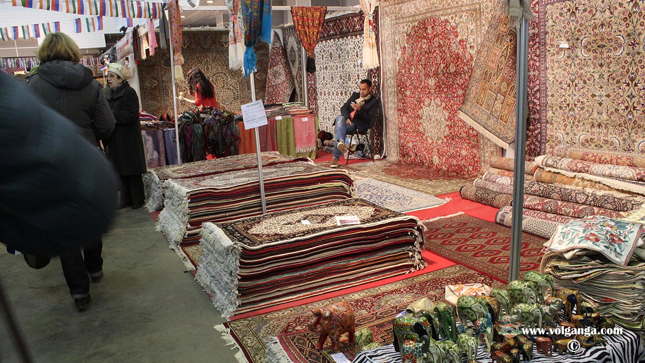 Indian Fair in Yaroslavl (2015). Carpets