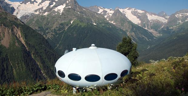 UFO Hotel, Caucasus (Russia)