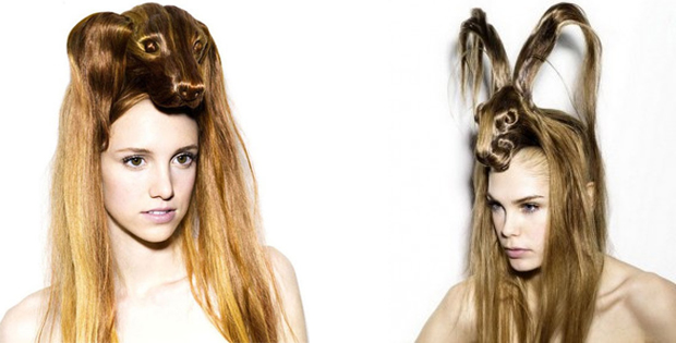 Crazy animal female hairstyles