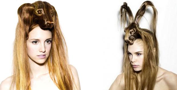Crazy animal female hairstyles