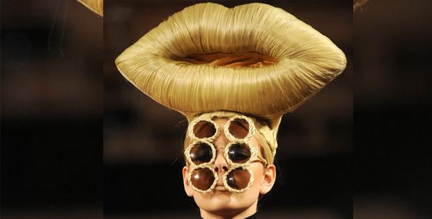Lip crazy female hairstyle