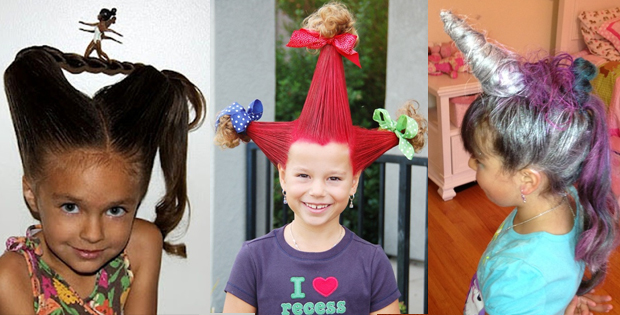 Crazy kids hairstyles