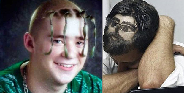 Crazy male hairstyles
