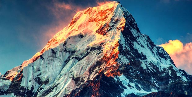 What was the highest mountain in the world before the mount Everest was discovered?