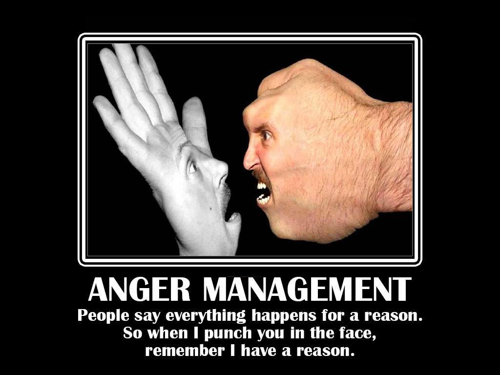 People say everything happens for a reason. So when I punch you in the face, remember I have a reason.