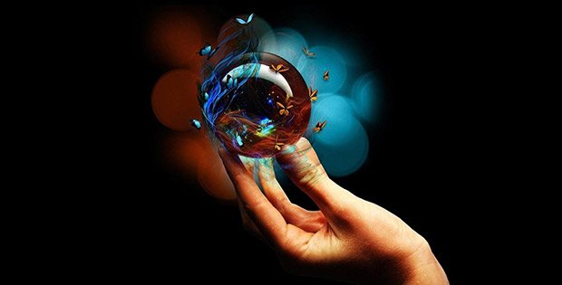 Magic crystal balls. HD wallpapers