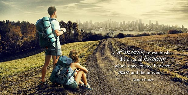 How to be a traveller and not a tourist: inspirational travel quotes