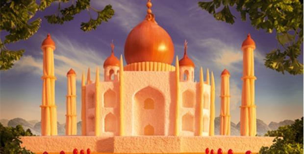 Onion Taj Mahal