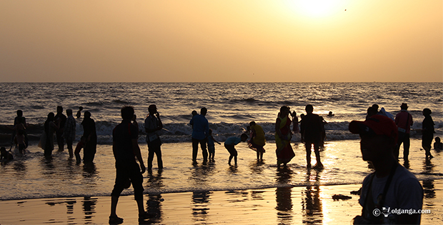 Juhu Beach at Mumbai