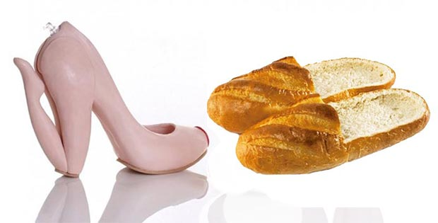 30 Weird shoes: crazy design, shapes and materials