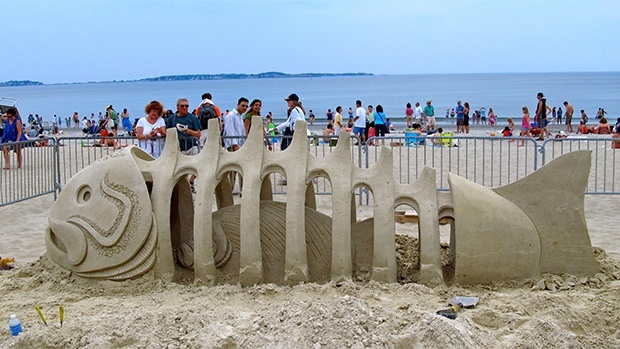 Awesome sand sculptures