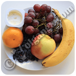 Fruit salad ingrediets