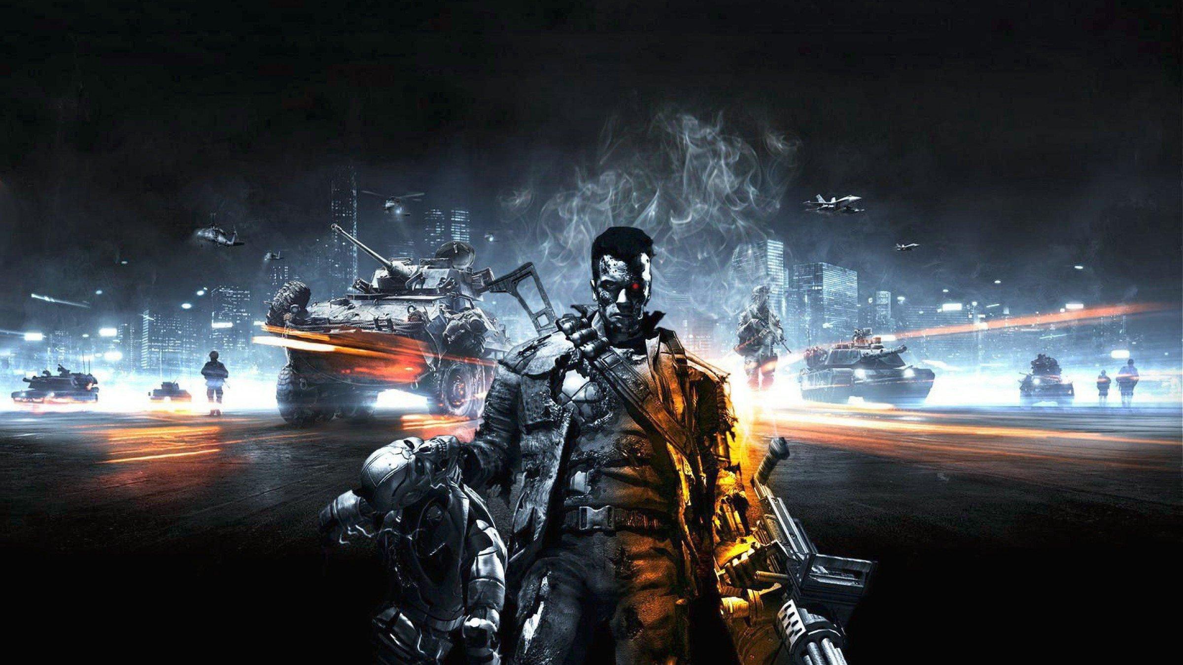 Hd wallpaper bahubali 2 - Terminator Genisys 2015 Terminator 5 Trailer Amp Film