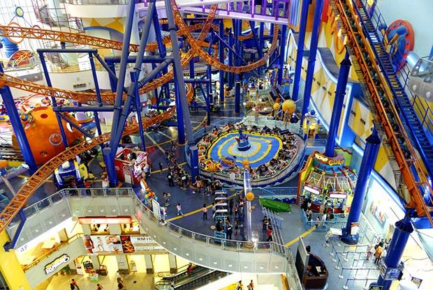 World's most amazing malls. Berjaya Times Square, Kuala Lumpur, Malaysia