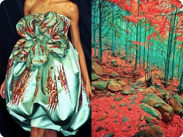Project 'Fashion & Nature' by Lilia Khudyakova
