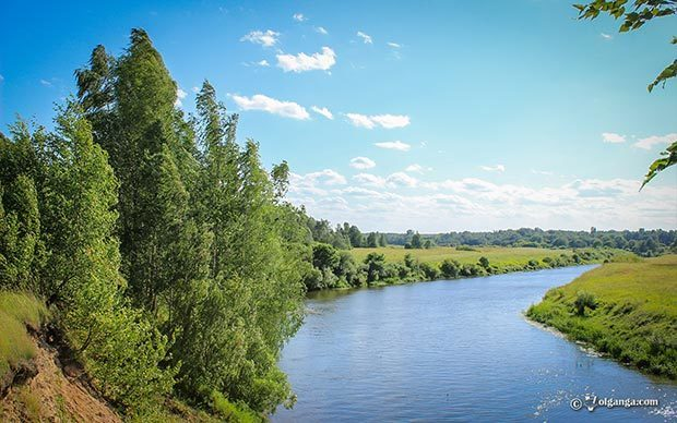 Generous Russian Nature HD wallpapers. Gorgeous riverscape