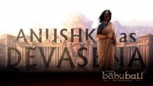 Anushka as Devasena