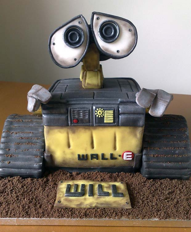 Awesome Will-E cake