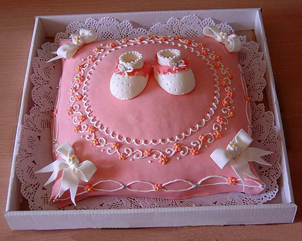 Awesome baby birthday cake