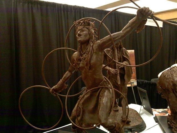 Art Chocolate Sculpture