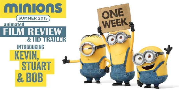 Minions (2015): Trailer & Animated Film Review